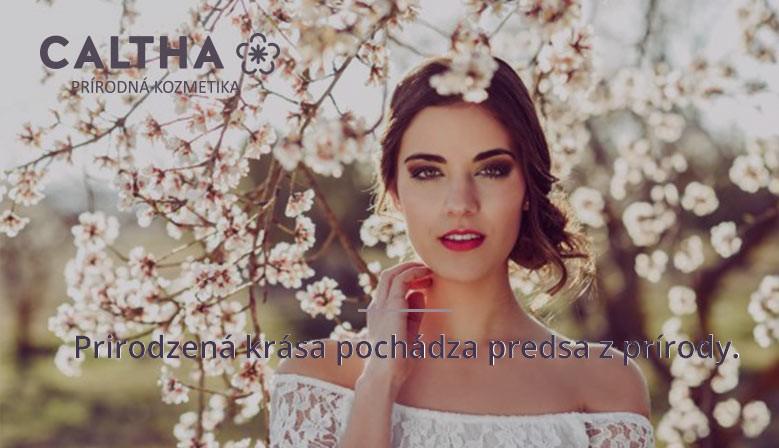 Kozmetika Caltha - Prirodzená krása